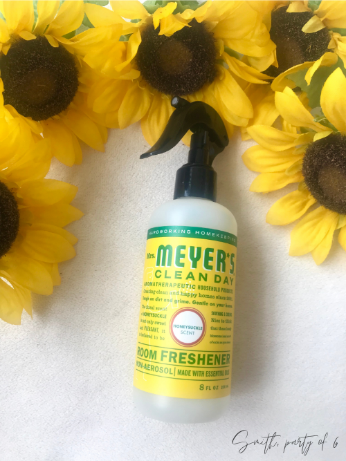 Mrs. Meyer's Honeysuckle Room Refresher Spray