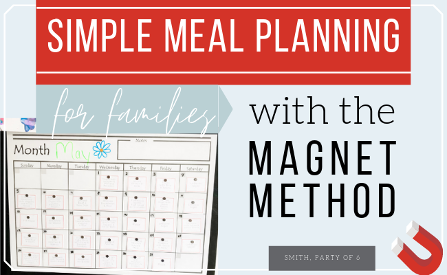 Simple Family Meal Planning
