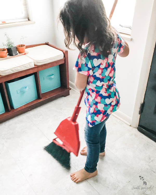 Sweeping Floors -- How Giving Kids Responsibility Strengthens Family Culture