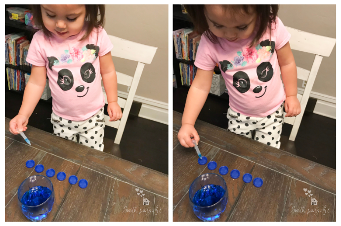 Water Pipette Squeeze -- Fine Motor Activities