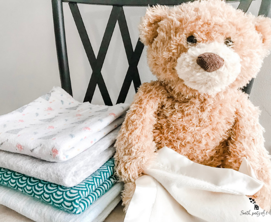 Blankets & Bear -- No More Cleaning Schedule