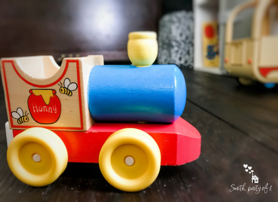 Toy Train -- How Giving Kids Responsibility Strengthens Family Culture