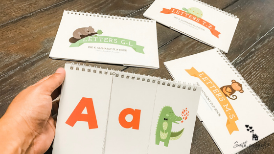 Letter Flip Books (Learning Activity)